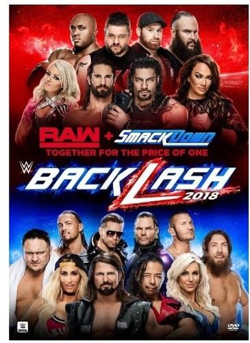 【メール便送料無料】【1】WWE: BACKLASH 2018 (輸入盤DVD)【D2018/6/26発売】