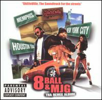 8 Ball&MJG/Ghettoville The Soundtracks(进口盘CD)(八球&MJG)