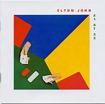 【メール便送料無料】Elton John / 21 At 33 (輸入盤CD)【★】(エルトン・ジョン)【割引中】