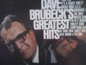 【輸入盤LPレコード】Dave Brubeck / Dave Brubeck's Greatest Hits(デイウ゛・ブルーベック)