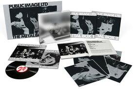 【輸入盤LPレコード】Public Image Limited (PIL) / Metal Box (Super Deluxe Eidtion) (UK盤)【LP2016/12/23発売】