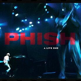 【輸入盤LPレコード】Phish / Live One (Blue) (Colored Vinyl) (180gram Vinyl) (Red) (Digital Download Card)【LP2017/10/27発売】(フィッシュ)