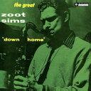 【輸入盤LPレコード】Zoot Sims / Down Home(ズート・シムズ)