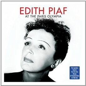 【輸入盤LPレコード】Edith Piaf / At The Paris Olympia (UK盤)【★】(エディット・ピアフ)