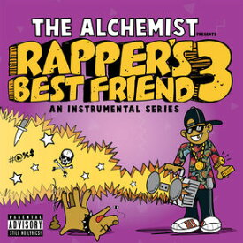 【輸入盤LPレコード】Alchemist / Rapper's Best Friend 3