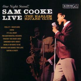 【輸入盤LPレコード】Sam Cooke / One Night Stand: Live At Harlem Square (Limited Edition)【LP2016/12/16発売】(サム・クック)