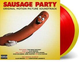 【輸入盤LPレコード】Soundtrack / Sausage Party (Gatefold LP Jacket) (Limited Edition) (180gram Vinyl) (Red)【LP2016/9/30発売】(サウンドトラック)