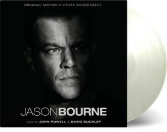 John Powell/David Buckley(Soundtrack)/Jason Bourne(Gatefold 33轉唱片Jacket)(Limited Edition)(180gram Vinyl)(White)(電影原聲帶)