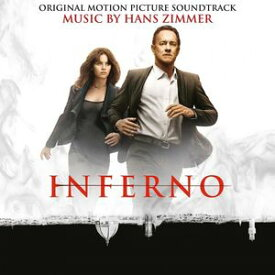 【送料無料】Hans Zimmer (Soundtrack) / Inferno (Gatefold LP Jacket) (Limited Edition) (180gram Vinyl) (Red) 【輸入盤LPレコード】【LP2016/12/2発売】(ハンス・ジマー)