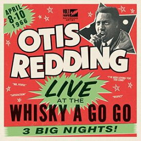 【輸入盤LPレコード】Otis Redding / Live At The Whiskey A Go Go (180gram Vinyl)【LP2017/3/24発売】(オーティス・レディング)