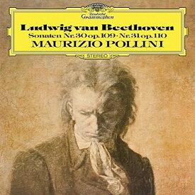 【輸入盤LPレコード】Beethoven/Pollini / Sonaten Nr 30 Op 109 Nr 31 Op 110 (180gram Vinyl)【LP2016/12/16発売】