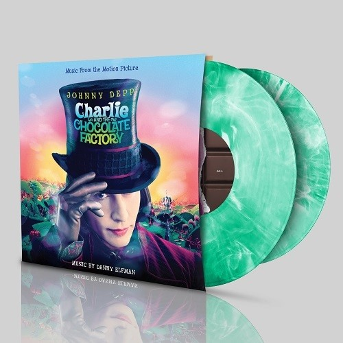 【送料無料】Danny Elfman (Soundtrack) / Charlie & The Chocolate Factory (Gatefold LP Jacket)【輸入盤LPレコード】【LP2017/7/14発売】(サウンドトラック)