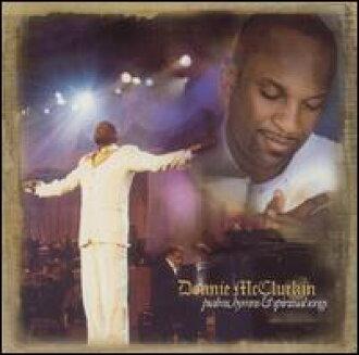Donnie McClurkin / Psalms, Hymns & Spiritual Songs (수입반CD) (대니・마크라킨)