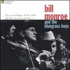 【輸入盤CD】【ネコポス送料無料】Bill Monroe / Live Recordings 1956-1969 (ビル・モンロー)
