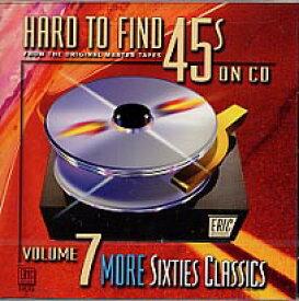 【輸入盤CD】VA / Hard To Find 45s On CD 7