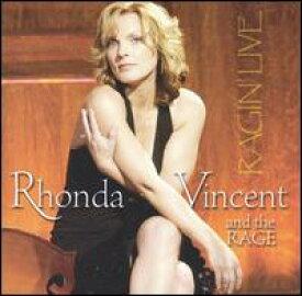 【輸入盤CD】Rhonda Vincent & The Rage / Ragin' Live (ロンダ・ヴィンセント)
