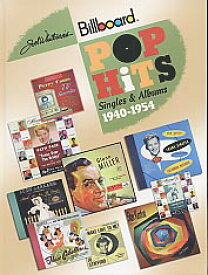 【ヒットチャート関連書籍】POP HITS SINGLES & ALBUMS 1940-1954 (HARDCOVER)
