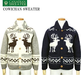 CANADIAN SWEATER カナディアンセーター Cowichan Sweater カウチンセーター カウチンジャケット カーディガン 2019AM 2color