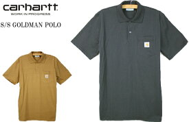 CARHARTT カーハート S/S GOLDMAN POLO 半袖 ゴールドマン ポロシャツ A191046 2color 送料無料