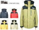 FIRST DOWN ファーストダウン 2 TONE DOWN PARKA 2トーンダウンパーカー 642502C 5color 送料無料