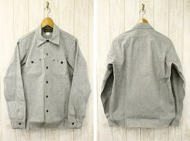 "FREEWHEELERS フリーホイーラーズ Neal Cassady Rail Road 1920s~30s STYLE WORK SHIRTS ""Neal"" シャンブレーワークシャツ 1613002 VINTAGE WHITE PEPPER CHAMBRAY"