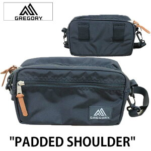 GREGORY グレゴリー PADDED SHOULDER POUCH bag バッグ ウエストポーチ ショルダーバッグ ウエストバッグ アウトドア サコッシュ 巾着 653801041(BK2)