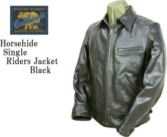★RAINBOW COUNTRY(레인보우 컨트리)  Horsehide Single Riders Jacket 호스하이드싱르라이다스 RCL-10013 H/BLACK