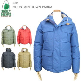 SIERRA DESIGNS シェラデザイン MOUNTAIN DOWN PARKA 5colors 8304