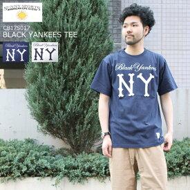 SUNNY SPORTS サニースポーツ BLACK YANKEES TEE ブラック ヤンキース Tシャツ CB17S017 2color