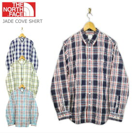THE NORTH FACE ザ・ノースフェイス L/S JADE COVE SHIRT ロングスリーブ ジェイドコーブ シャツ NR11716 4color