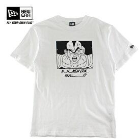 メンズ プリントTシャツ 半袖 NEW ERA ニューエラ NE×DBZ ラディッツ 12110841