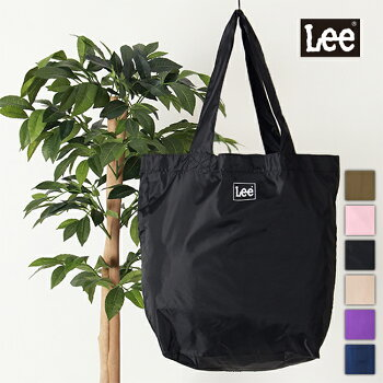 Leeリーエコバッグトートバッグポリエステルお買い物袋ショッピングバッグ男女兼用ユニセックスロゴ0425668
