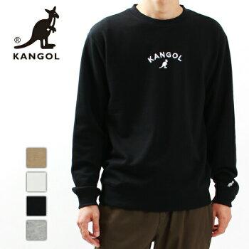 KANGOLカンゴールスウェットトレーナートップスメンズレディースユニセックス刺繍ロゴミニロゴクルーネックC6050N