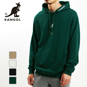 KANGOLカンゴールスウェットパーカートレーナートップスメンズレディースユニセックス刺繍ロゴミニロゴフーディーC6052N