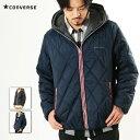 ブラックフライデー CONVERSE コンバース メンズ アウター トップス キルティング 中綿 フード ジャケット フード裏ボア素材 0540-1400
