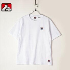 BENDAVIS ベンデイビス メンズ レディース ユニセックス 半袖 Tシャツ 刺繍 バックプリント ゴリラ ロゴ 1580005