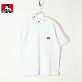 BENDAVIS ベンデイビス メンズ レディース ユニセックス 半袖 Tシャツ ポケット ポケT ゴリラ ロゴ 9580000