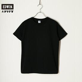 EDWIN エドウィン Tシャツ 半袖 レディース ハタラクロ ハタラクT 汚れがつきにくい 色落ちしにくい MTH001