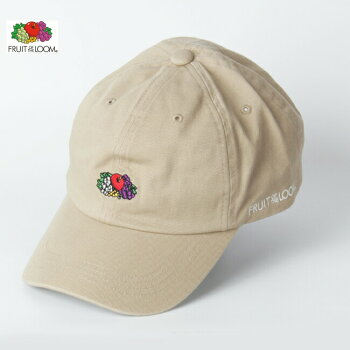 FRUITOFTHELOOMフルーツオブザルームロゴ刺繍ローキャップベースボールキャップメンズレディースユニセックス14712900