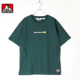 BENDAVIS ベンデイビス メンズ レディース ユニセックス 半袖 Tシャツ バーロゴ BEN BANNERS T 1580007