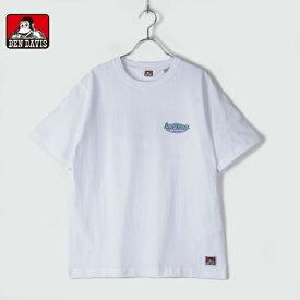 BENDAVIS ベンデイビス メンズ レディース ユニセックス 半袖 Tシャツ ビッグシルエット オーバルロゴ BEN OVAL LOGO T 1580009