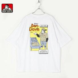 BENDAVIS ベンデイビス メンズ レディース ユニセックス 半袖 Tシャツ ビッグシルエット オーバーサイズ ゆったり アートワーク BEN HERE'S BIG TEE 1580015