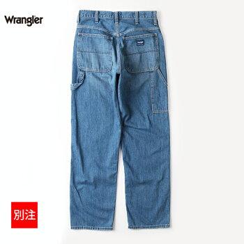 WranglerラングラーメンズパンツボトムスPAINTERペインターパンツワイドストレートデニム別注商品WM5988-C8