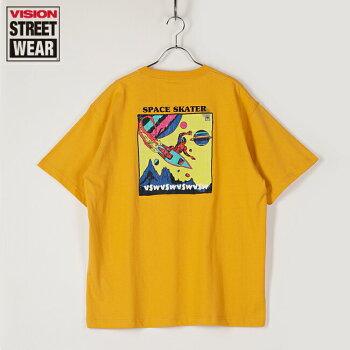 VISIONSTREETWEARヴィジョンストリートウェアTシャツ半袖メンズレディースユニセックススペーススケーターVSビッグTビッグシルエットドロップショルダー1505054