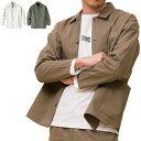 メンズ シャツジャケット ガーデニング ワーク 胸ポケット 220221-AY