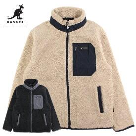 メンズ ボアフリース スタンドジャケット KANGOL カンゴール 9532-6520