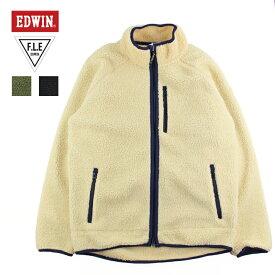 メンズ ボアフリース EDWIN F.L.E ボアフリースジャケット ET5797-1