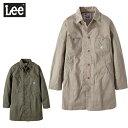 10%OFF メンズ ワークコート カラー スプリング コート Lee リー GLT058-6