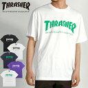 40%OFF THRASHER スラッシャー Tシャツ 半袖 メンズ レディース ユニセックス TH MAG LOGO TH8101 -20S