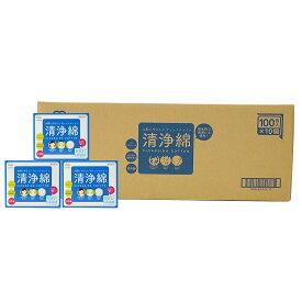 アメジストファミレ清浄綿100包入×10個(ケース) | 日本製 ※送料無料 大衛 清拭 ノンアルコール